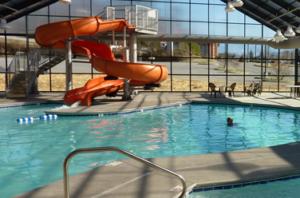 indoor swimming pool complex