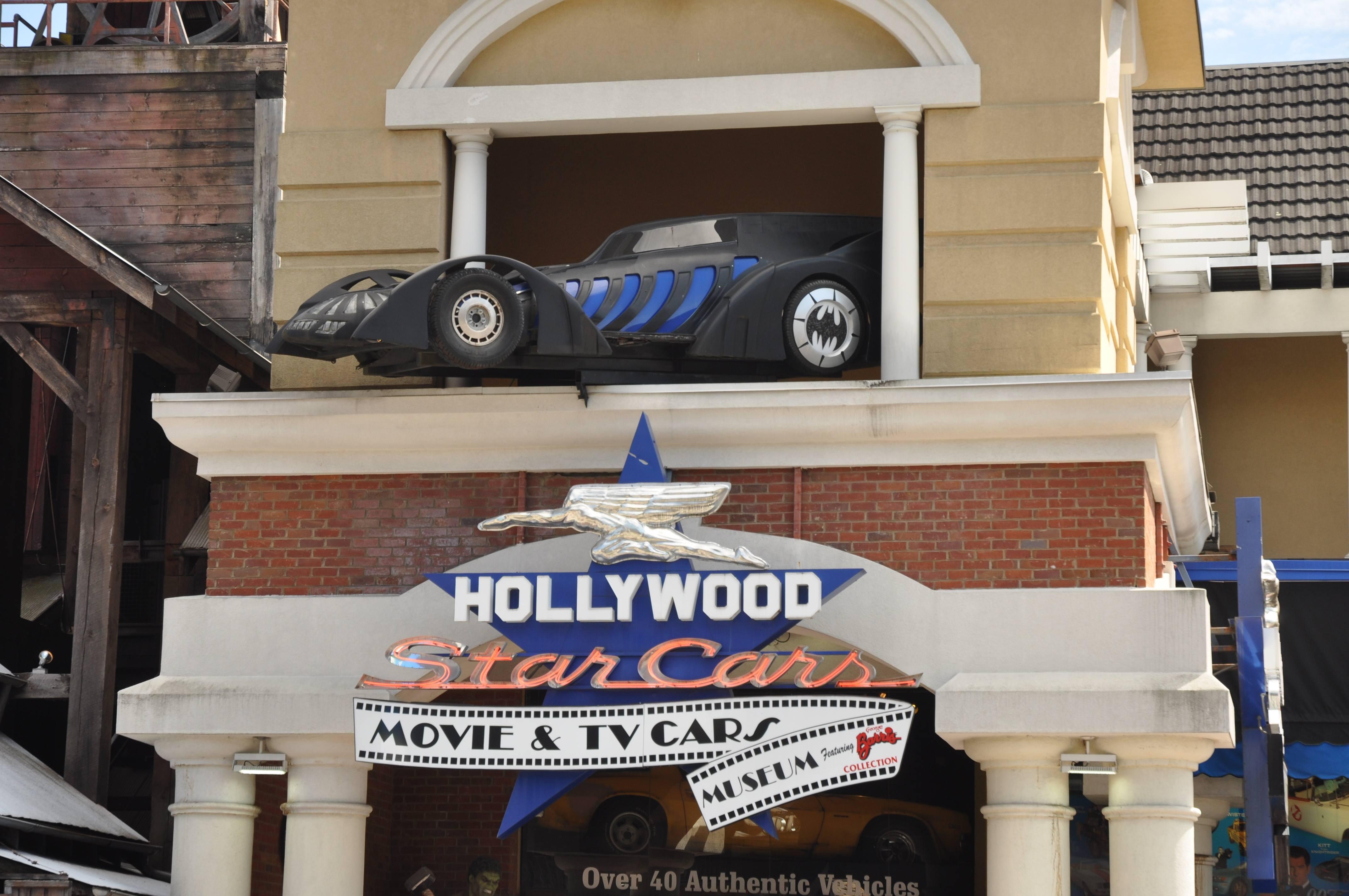 Hollywood Star Cars Museum in Gatlinburg