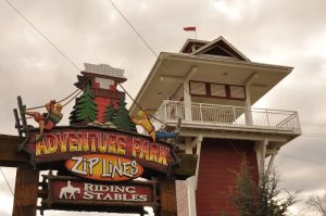 adventure park zipline in sevierville tn